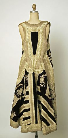 Coat Date: 19th century Culture: Turkish Medium: silk, metallic Dimensions: Length at CB: 45 in. (114.3 cm)