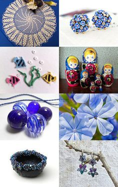 The life in blue by Nathalie on Etsy--Pinned with TreasuryPin.com