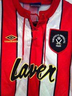 Sheffield United Home Shirt 1992-1994 Sheffield United Football c1424553a