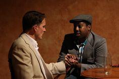 Brian Kraszewski  as MICHAEL, J. Hargrove as LANCE. Photo courtesy of Fells Point Corner Theatre.