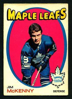1971 72 Topps 43 JIM MCKENNY EX-NM TORONTO MAPLE LEAFS FREE SHIP #TorontoMapleLeafs Hockey Stuff, Hockey Teams, Hockey Players, Nhl, Maple Leafs Hockey, Tim Hortons, Child Hood, Nfl Fans, Hockey Cards
