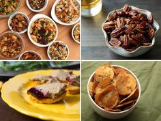 Sure, the Thanksgiving meal itself demands a lot of attention and stomach space, but a large part of the fun lies in the downtime before dinner—a period that's best spent with a cocktail in hand, enjoying a long gab with your fellow eaters and the smells wafting in from the kitchen. That's when a bowl of nuts, homemade potato chips, or creamy dip becomes essential. Here are 16 recipes for Thanksgiving starters, appetizers, and snacks to help whet the room's collective appetite.