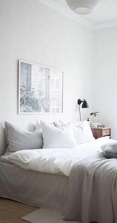 Home Decor Habitacion Cozy bed.Home Decor Habitacion Cozy bed Home, Cozy House, Art Over Bed, Bedroom Interior, Bedroom Images, Bedroom Furniture, Bedroom Inspirations, Bed, Remodel Bedroom