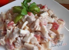 Jemné kynuté buchty | NejRecept.cz Pasta Salad, Potato Salad, Toast, Food And Drink, Chicken, Vegetables, Ethnic Recipes, Fitness, Green Papaya Salad