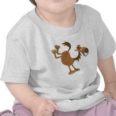 Cute Kicking Cartoon Horse Baby T-Shirt Tees #tshirts #kick #horse #cartoon #cheerfulmadness #baby #gifts #babyshower #newbaby #animation #comics