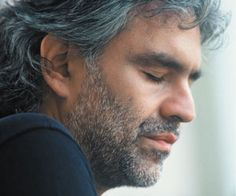 Andrea Bocelli. Besides his condition he never gave up. I admire his courage.