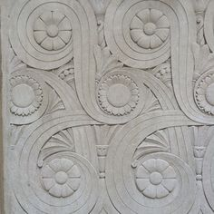 Stonework on Chicago Auto Club Building
