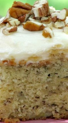 Best Ever Banana Cake with Cream Cheese Icing