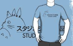 Studio Ghibli Staff Shirt by Earth-Gnome $25.56