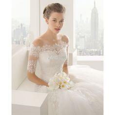 [170,38€] Prinzessin schulterfrei Birneform besonderes Elegantes sexy Brautkleid