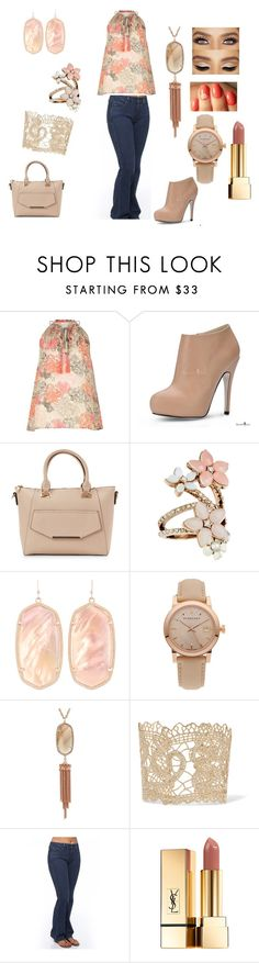 """""""This and that"""" by lm-ferrell on Polyvore featuring River Island, Urban Expressions, Accessorize, Kendra Scott, Burberry, Miraclebody Jeans by Miraclesuit and Yves Saint Laurent"""