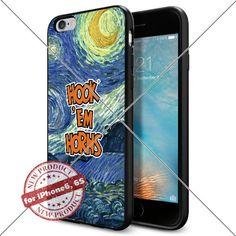 Case Texas Longhorns Logo NCAA Cool Apple iPhone6 6S Case Gadget 1605 Black Smartphone Case Cover Collector TPU Rubber [Starry Night] Lucky_case26 http://www.amazon.com/dp/B017X13O6U/ref=cm_sw_r_pi_dp_osGtwb0KZ43Z8