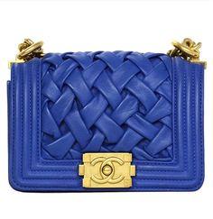 Regal Blue CHANEL MINI BAG