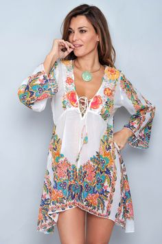 New fashion winter boho gypsy Ideas Ethnic Fashion, Boho Fashion, Fashion Design, Summer Outfits, Casual Outfits, Summer Dresses, Look Boho, Beach Attire, Hippie Outfits