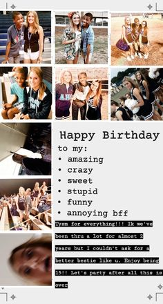 Birthday Wishes For Kids, Birthday Wishes For Boyfriend, Birthday Wishes Funny, Birthday Captions Instagram, Birthday Post Instagram, Happy Birthday Best Friend Quotes, Birthday Quotes For Best Friend, Friends Instagram, Instagram Quotes