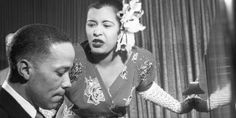 A Look Back At Billie Holiday's Ladylike Style Billie Holiday, Lady Sings The Blues, You Rock My World, Bless The Child, Cool Jazz, Ladylike Style, Gone Girl, Jazz Blues, Her Music