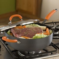 Rachael Ray 6-Quart Chef's Pan