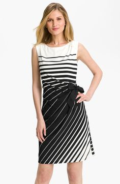 Stripe Jersey Dress