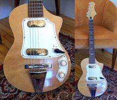 Weird guitars, bizarre guitars, wonderful guitars, strange guitars...  <p> ALSO: Guitars and guitarists, basses and bassists, guitar news and products, links to interesting guitar sites and products found on the internet, plus features on my own guitars and renovation projects. <p> <b>The Original Guitar Blog - since 2002.</b></p></p>