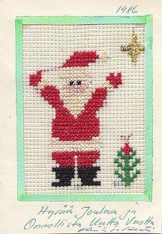 https://flic.kr/p/5JXwQG | joulukortti  147 Santa  Christmas Card | my collection