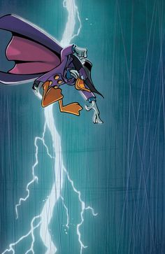 SDCC exclusive cover to Darkwing Duck #1 by me and Jake Myler. Art direction by Aaron Sparrow