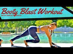 Booty Blast Workout with Ankle Weights (Free Workout Wednesday – Video) | lakatwoman