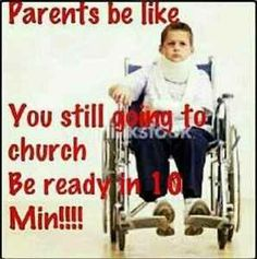 Are you ready for church!