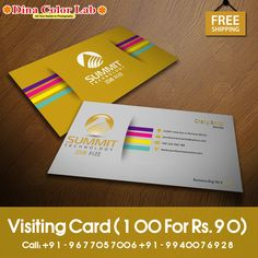 Visiting Card Printing, Business Cards Online, Smooth, Free Shipping