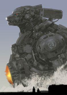 Mecha Godzilla by rickyryan.deviantart.com on @DeviantArt