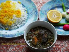 """Ghorme Sabzi literally means herb stew in Persian language!. In fact, the word """"ghorme"""" is the Persian equivalent of the word """"Korma"""" ..."""