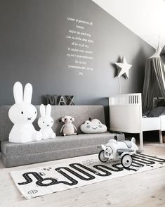 At first, we think boys only have few kinds of stuff. They are not as complicated as girls are, or maybe we think they do not really care how their room looks like. However, there are a lot more boys bedroom ideas to enrich your toddler's room reference Baby Boy Rooms, Baby Bedroom, Nursery Room, Home Decor Bedroom, Girls Bedroom, Bedroom Ideas, Bedroom Rustic, Bedroom Curtains, Childrens Room Decor