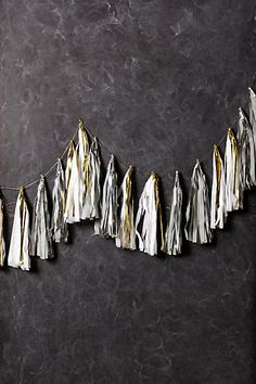 Luminescence Tassel Garland / anthropologie.com