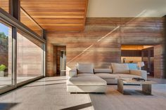 Rammed-Earth Luxury Homes Rammed Earth Homes, Rammed Earth Wall, Architecture Durable, Sustainable Architecture, Residential Architecture, Contemporary Architecture, Pavilion Architecture, Sustainable Building Materials, Casas Containers