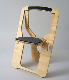 Складной стул из фанеры, своими руками