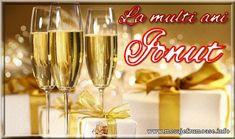 Trimite si tu un gand frumos intr-o felicitare tuturor care porta numele sfantului Ioan! Click pentru a alege o felicitare! Santa Wish List, Dear Santa, Happy Birthday, Sparkle, Tableware, Holiday Decorations, Women's Fashion, Night, Polyvore