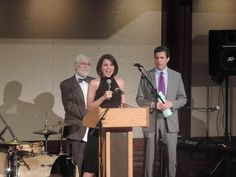 Host's Bob Kelly and Kate Bilo for the UCP benefit
