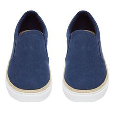CANVAS WELT SLIP ON
