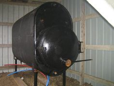 Outdoor wood boilers have become a popular option in the cold country for heating the home. The advantage is that you keep all the smoke, mess, and fire danger. Outdoor Wood Burner, Outdoor Wood Furnace, Woodworking Guide, Custom Woodworking, Woodworking Projects Plans, Water Boiler, Bois Diy, Rocket Stoves, Welding Projects