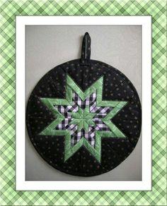 My folded star:
