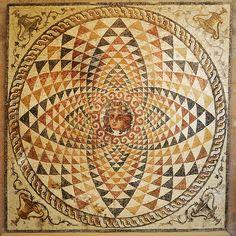 Roman Mosaic, Greece
