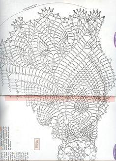 Kira scheme crochet: Scheme crochet no. 1135