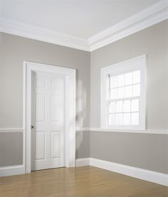 Floor to ceiling install of Classical Colonial moldings by WindsorONE & Do Door Casings And Window Casings Need To Match? | Door casing ... Pezcame.Com