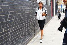Street Style: London Fashion Week Spring 2014 -