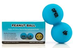 Peanut Ball: The Spine Support Tool for Muscle Relaxation Physiotherapy and Lower Back [Lumbar Spine] Upper Back [Thoracic Spine] & Neck [Cervical Spine] Pain Relief (Plus PDF Step-by-Step Guide) http://amzn.to/2cPr8Oe #peanutball