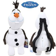 Disney Frozen OLAF Plush Backpack for Kids  by CACBaskets on Etsy