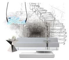 Futurista by nieves-martnez on Polyvore featuring interior, interiors, interior design, hogar, home decor, interior decorating, Modloft, Driade and Seletti