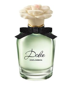 Dolce & Gabbana Dolce Eau de Parfum Spray: Notes of sandalwood and cashmeran ground this otherwise floral fragrance, scenting skin with a soft, feminine essence that lingers.