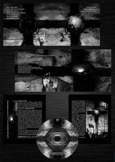 "Vladimír Hirsch  ""Symphony No.4 - Descent From The Cross"" album flyer"