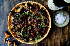 Forest pie with Mushrooms _ Red onions jpeg