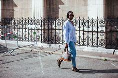 #Paris #FashionWeek #StreetStyle Paris Fashion Week Street Style 2016   British Vogue